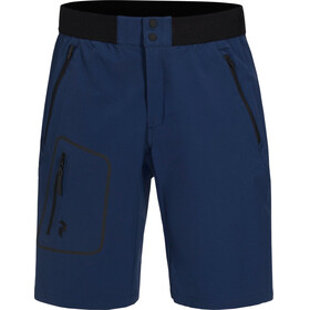 Peak Performance M's Ligth Softshell Shorts Thermal Blue